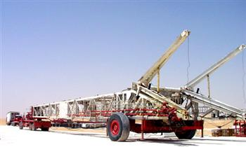 Rig Mast Moving Equipment
